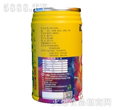 三根汤植物功能饮料310ml侧面产品图