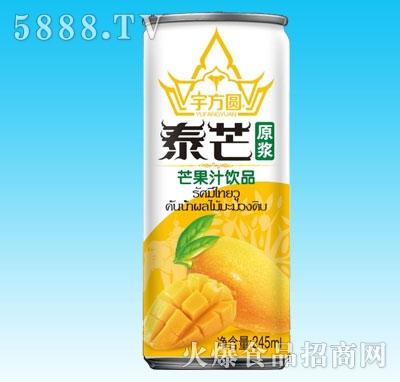 宇方圆泰芒芒果汁245ml