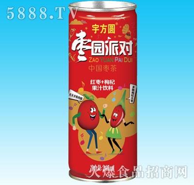 宇方圆枣园派对红枣+枸杞果汁饮料245ml