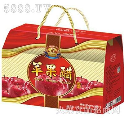 天华源苹果醋果汁饮料300mlx8瓶