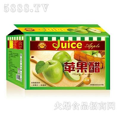 天华源苹果醋果汁饮料300mlx15瓶