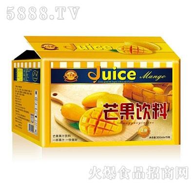 天华源芒果汁果汁饮料300mlx15瓶