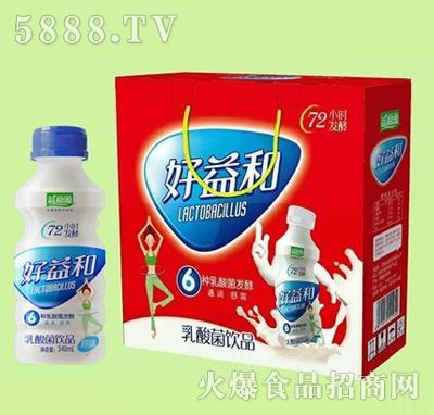 好益和乳酸菌饮品原味340mlx12礼盒装