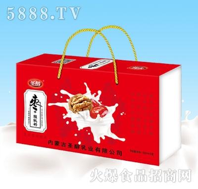 圣醇枣+核桃奶250mlx12盒礼品装