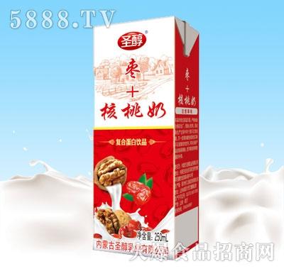 圣醇枣+核桃奶250ml