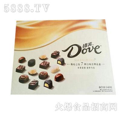 德芙巧克力精心之选140g礼盒