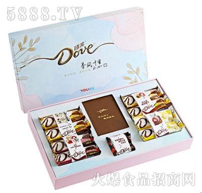 德芙巧克力春风十里礼盒装牛奶巧克力