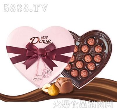 德芙巧克力dove爱榛子酱150g