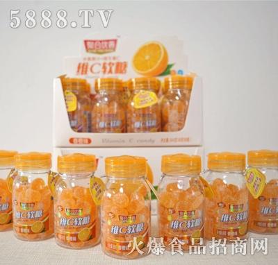 聚合忧善维C软糖香橙味