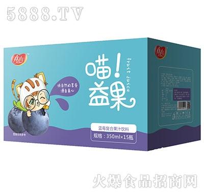 真心喵益果蓝莓汁350mlx15瓶