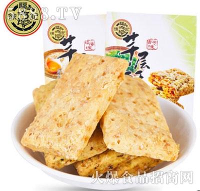 徐福记松塔芊层酥饼干144gx3袋