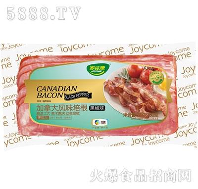 中粮家佳康加拿大风味培根(黑椒味)200g产品图