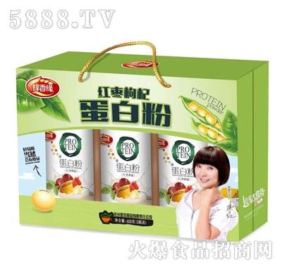 蜂香缘红枣枸杞蛋白粉(箱)