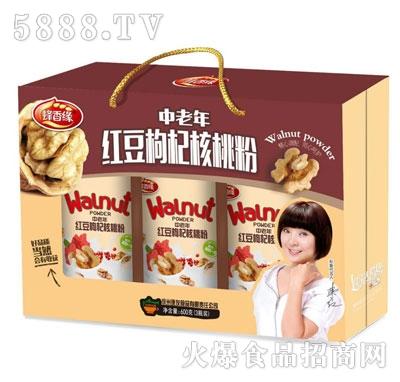 蜂香缘中老年红豆枸杞核桃粉(箱)