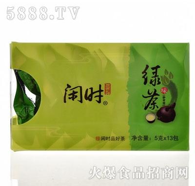 闲时闲时绿茶5gx13包