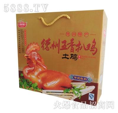 秦老吉德州五香扒鸡