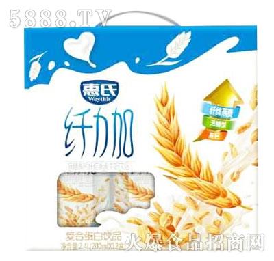惠氏纤力加复合蛋白饮品200mlX12盒