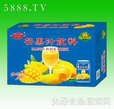 芒果汁饮料箱