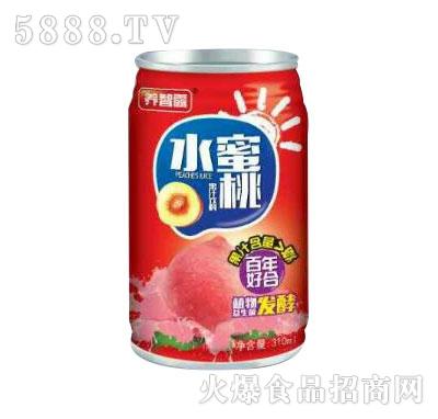 养智露水蜜桃汁330ml