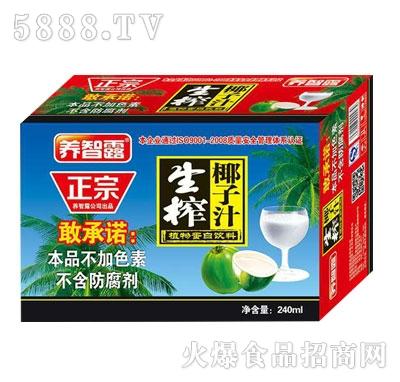 正宗生榨椰子汁(箱)