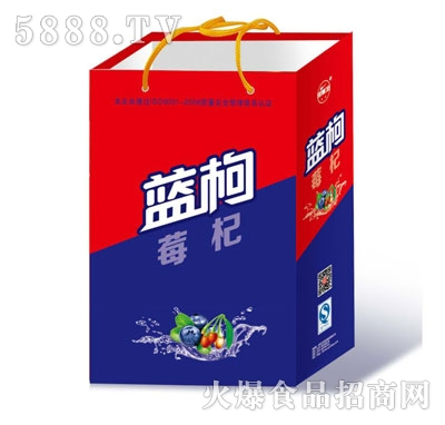 大赛蓝莓枸杞碳酸饮料(手提礼盒)