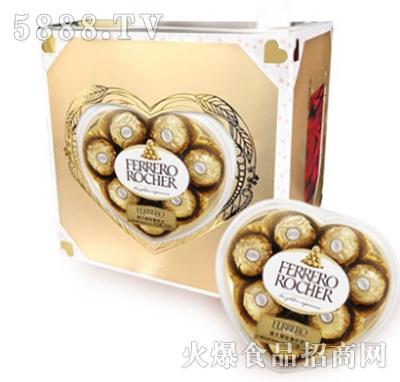 费列罗榛果威化巧克力心形装