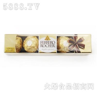 费列罗榛果威化巧克力零食5粒