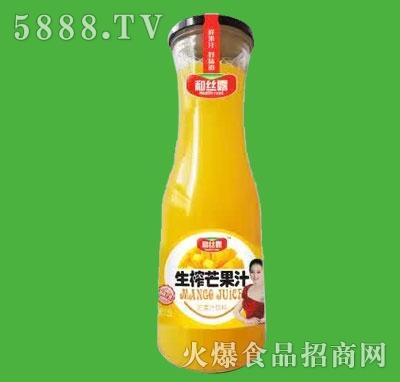 和丝露生榨芒果汁1.5L