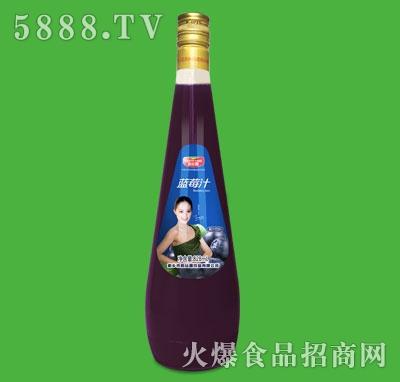 和丝露蓝莓汁828ml