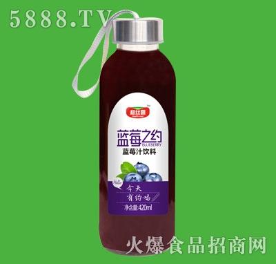 和丝露蓝莓之约蓝莓汁饮料420ml