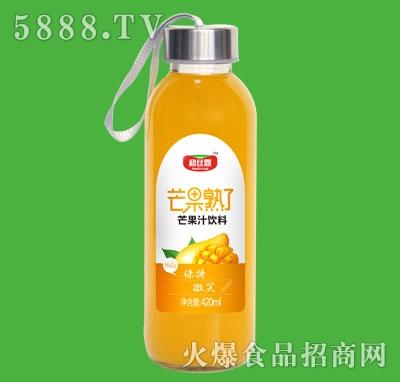 和丝露芒果熟了芒果汁饮料420ml