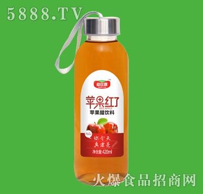 和丝露苹果红了苹果醋饮料420ml
