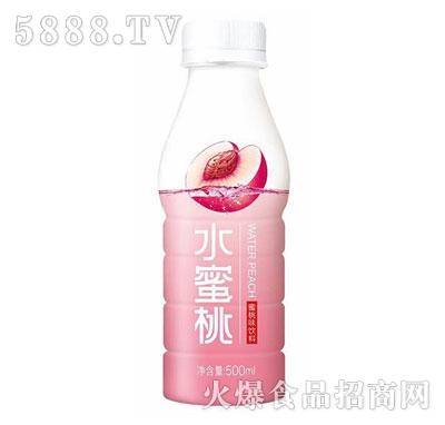 三诺水蜜桃果味水饮料500ml(蜜桃味)