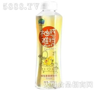 三诺柚惑难挡维生素果味饮料500ml(西柚味)