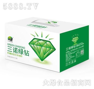 三诺绿钻柠檬味苏打水饮料360mlx15瓶