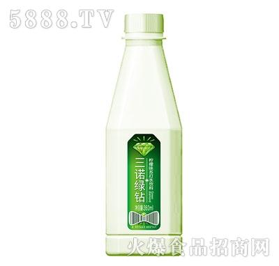 三诺绿钻柠檬味苏打水饮料360ml