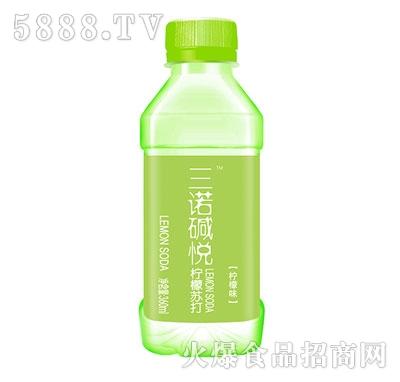 三诺碱悦柠檬苏打水360ml(柠檬味)