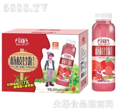 美果派杨枝甘露复合果汁380mlx15瓶(山楂+杨桃+石榴)