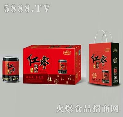 红枣枸杞风味饮品