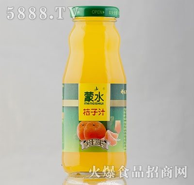 188ml蒙水橘子汁