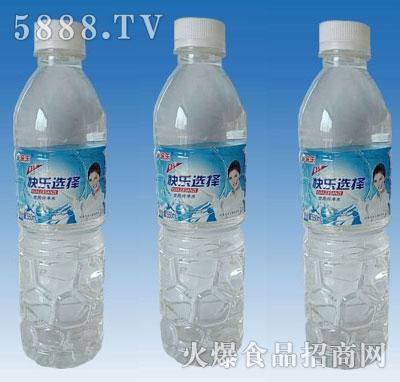 快乐选择500ml纯净水