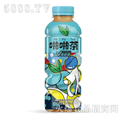 啪啪茶维能量青梅味茶饮料500ml