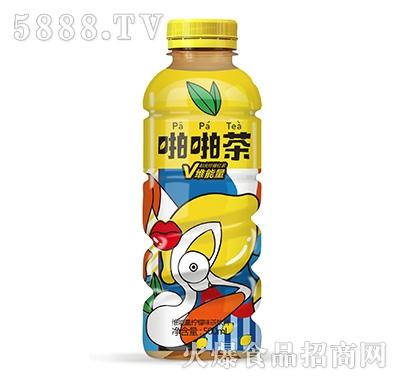 啪啪茶维能量柠檬味茶饮料500ml