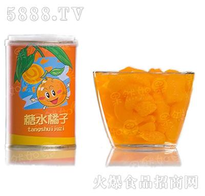 砀联糖水橘子罐头