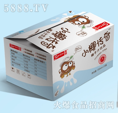 喜顿-小椰传奇椰子汁350mlx15瓶