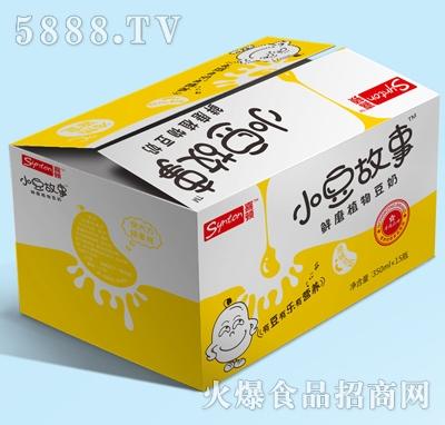 喜顿-小豆故事鲜磨植物豆奶350mlx15瓶