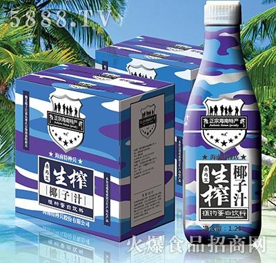 海南特种兵生榨椰子汁果肉型
