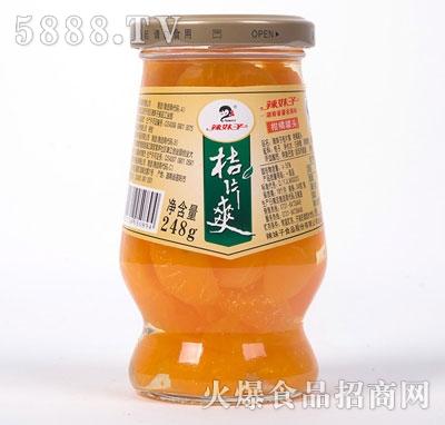 菓子美黄桃桔片爽248g