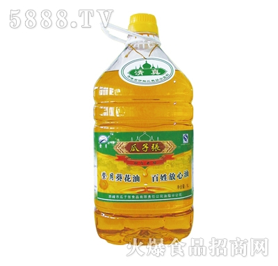 5L葵花油产品图