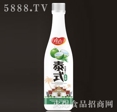 真心泰式果肉椰子汁生榨480ml